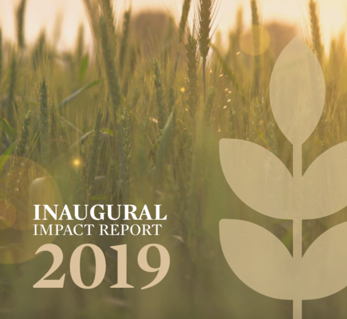 Inaugural Impact Report 2019: Creating Impact Along the Entire Food Chain