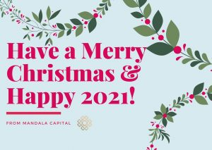 Season's Greetings and Happy New Year from Mandala